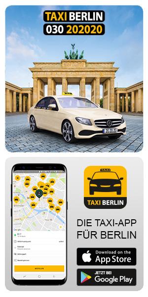 Taxi-App für Berlin - jetzt herunterladen